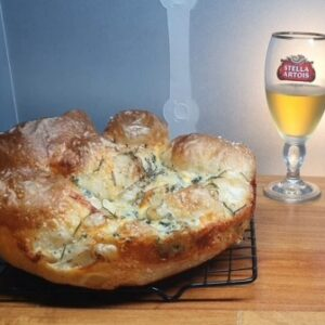 Focaccia Gorgonzola Cerveja