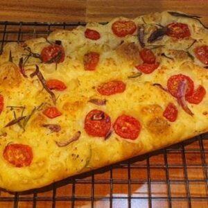 Focaccia Tomate Cereja