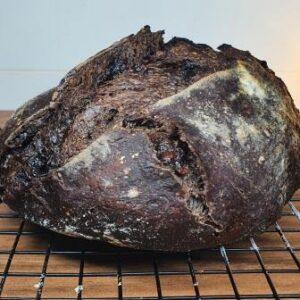 Pão italiano de Cacau + Gotas e Chocolate