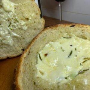 Pão Italiano Piscina de Brie